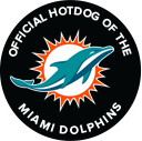Official Hot Dog of the Miami Dolphins