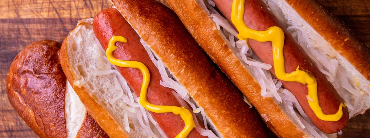 Pretzel Hot Dog